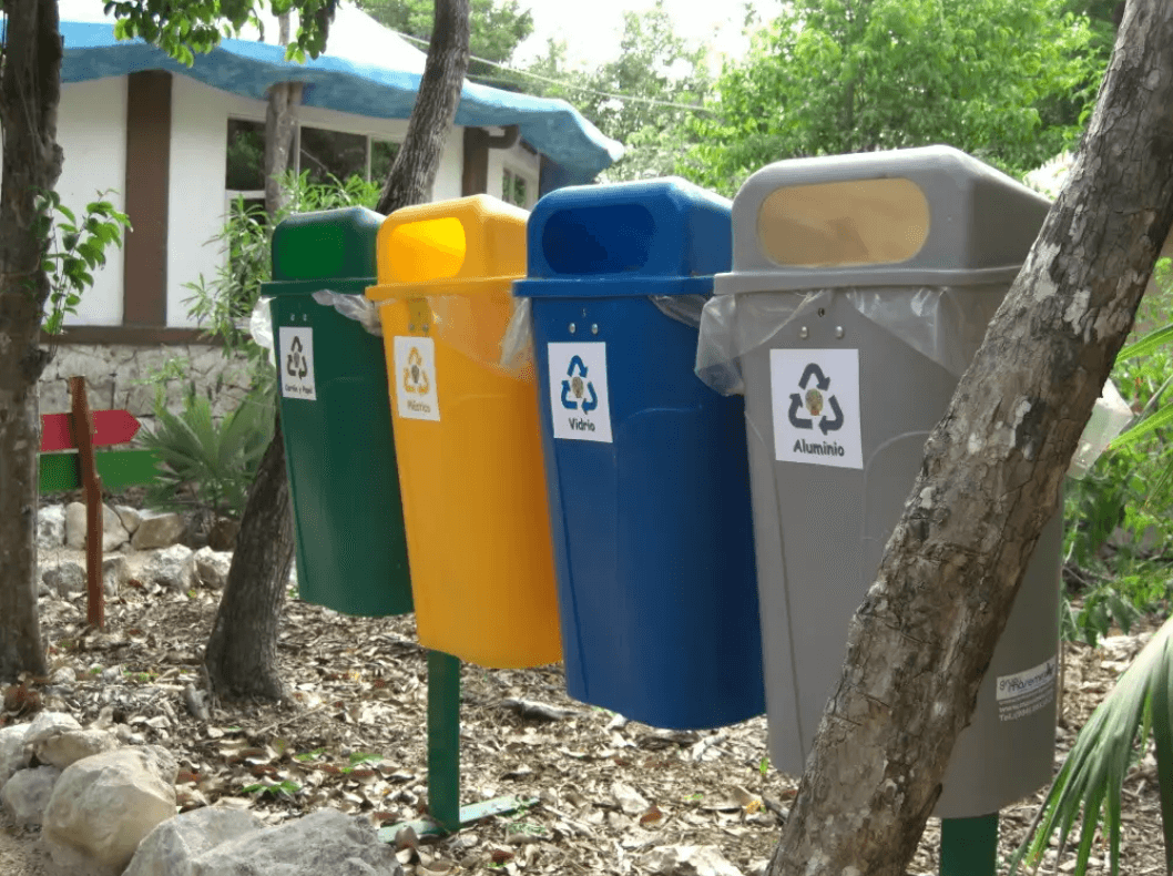 Recycling in Playa del Carmen