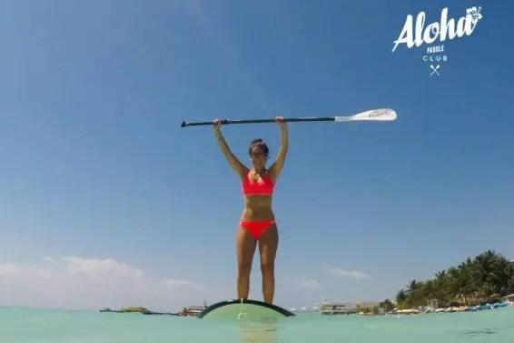 Playa del Carmen SUP classes