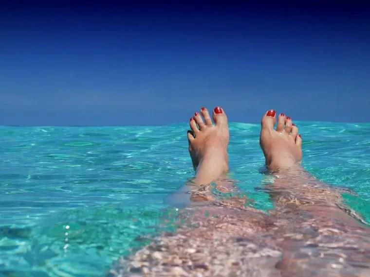 ocean feet