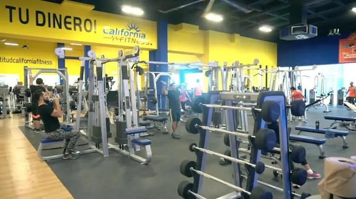 california fitness playa del camrne