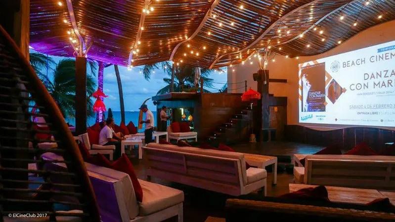 El Cine Club at Inti Beach Club