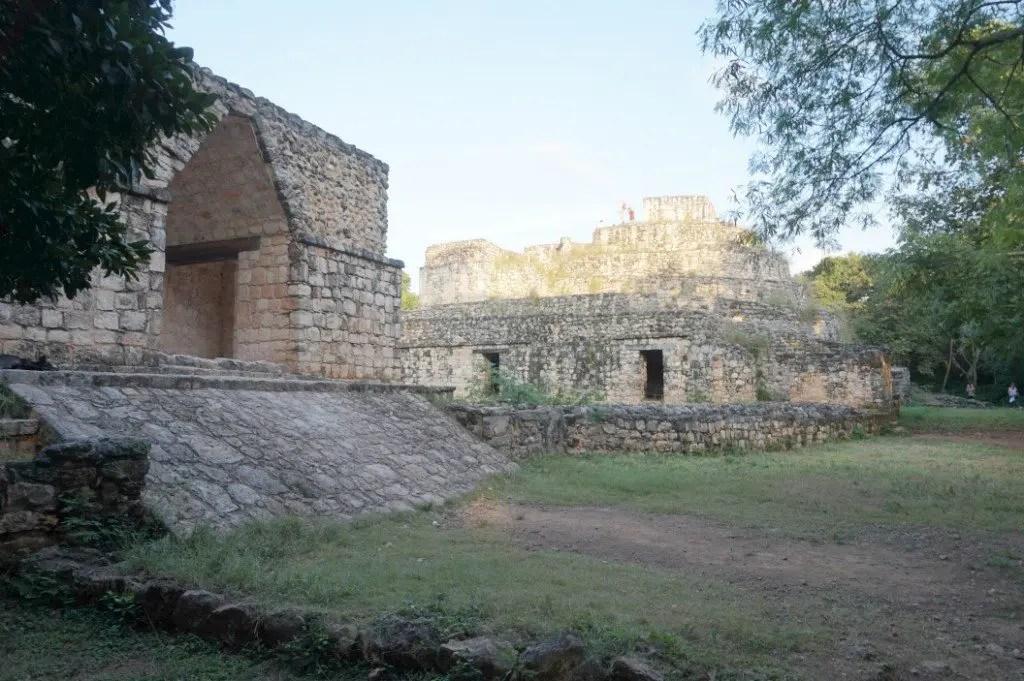 Entrance to Ek Balam - Where are the Mayan ruins
