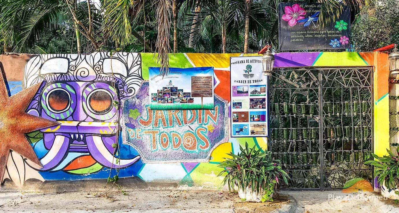 El Jardin de Todas Community Center: Everyone's Garden in Playa del Carmen
