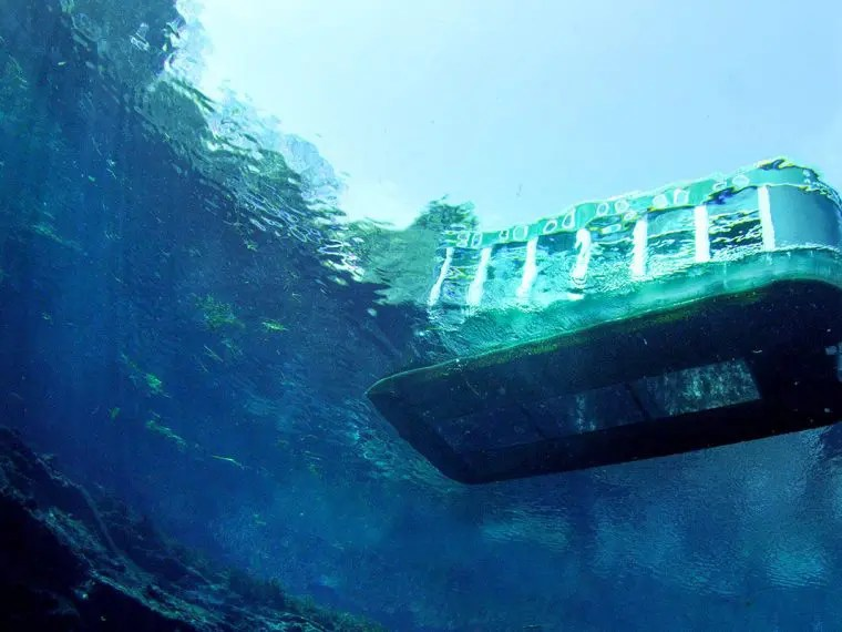 Glass Bottom Boat Tours In Cancun