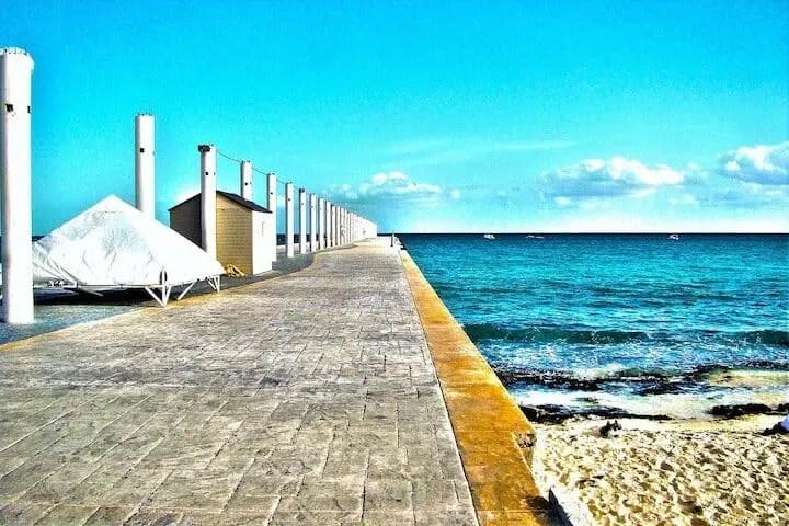 Running in Playa del Carmen