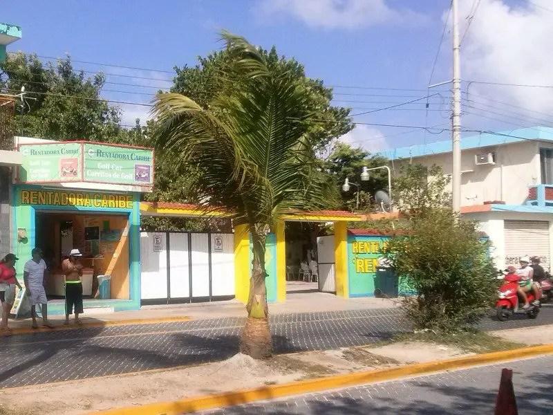 rentadora del caribe