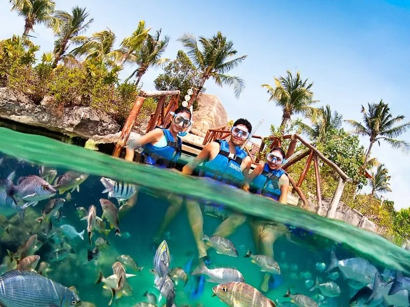 Snorkel Xel-Ha Cancun