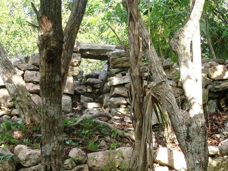 Xel-Ha Mayan Wall