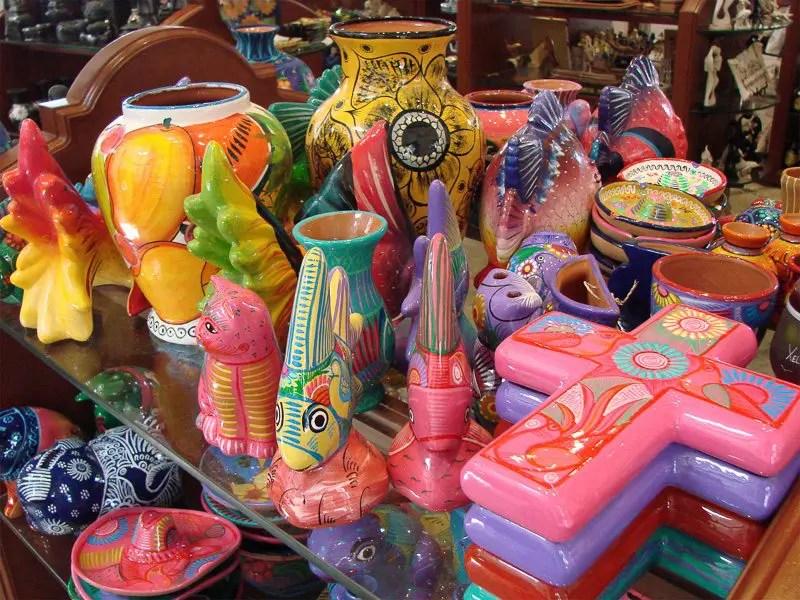 Mexican souvenirs Xel-Ha Park