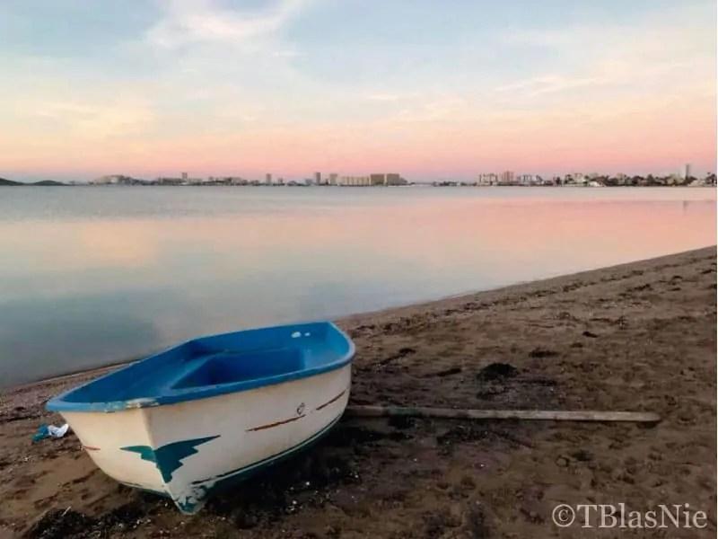 Boat by the Mar Menor