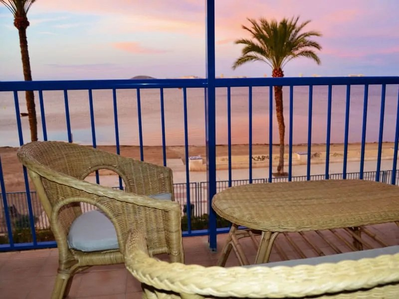 Enjoy these special sunsets and views of Playa Honda