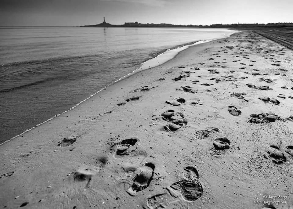 Footprints - Faro de Cabo de Palos