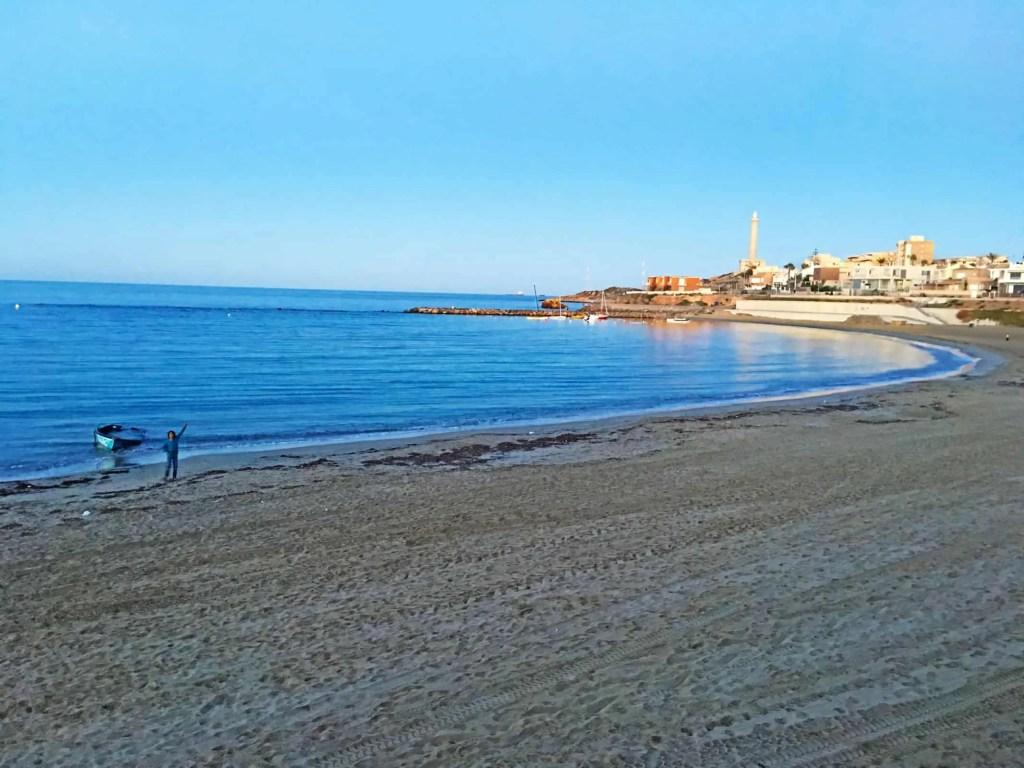 Playa de Levante Curva Cabo de Palos