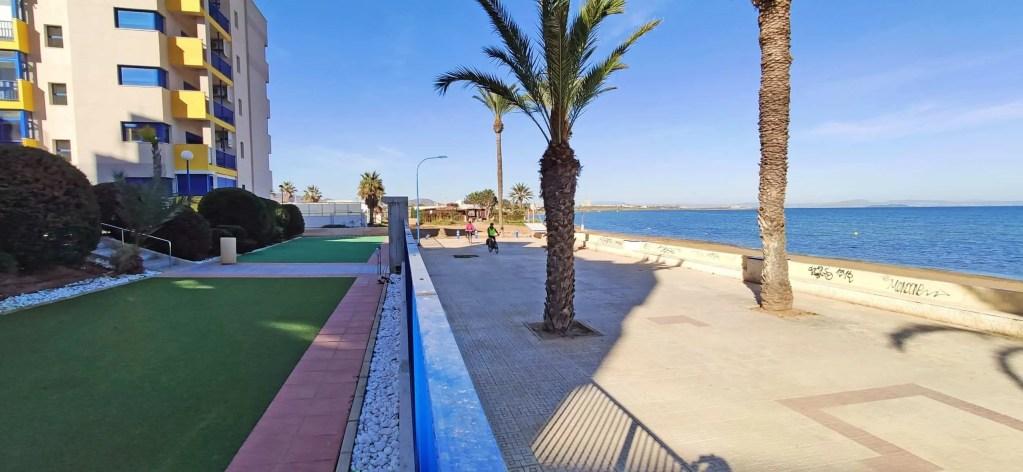 Verdemar 2 en el paseo marítimo de Playa Honda