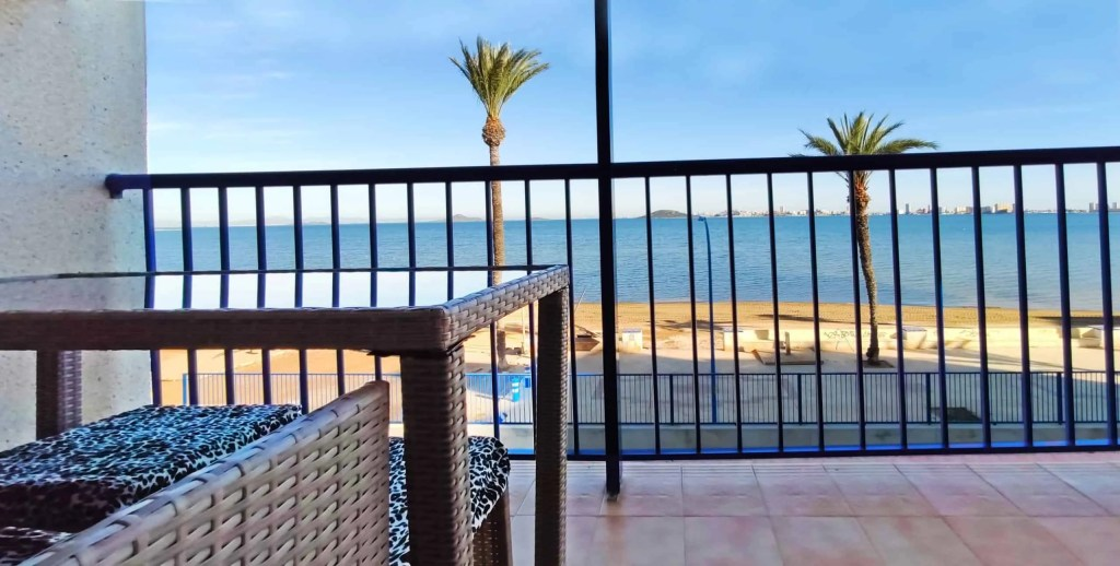 Maravillosas vistas desde su balcón en Shorehouse Verdemar 2 Playa Honda