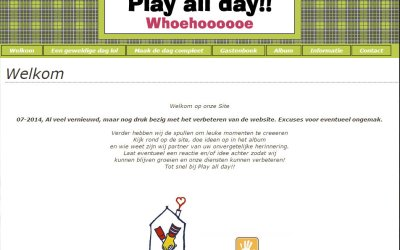 Protected: Play All Day is vernieuwd