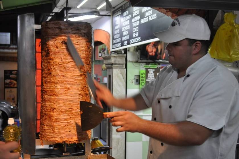tacos al pastor are some of my favorite types of tacos