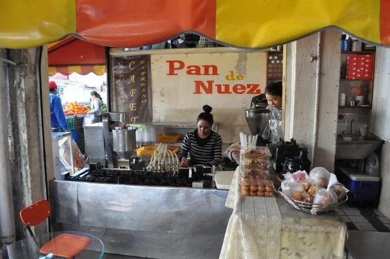 Pan de Nuez, Mercado de Abastos, Guadalajara