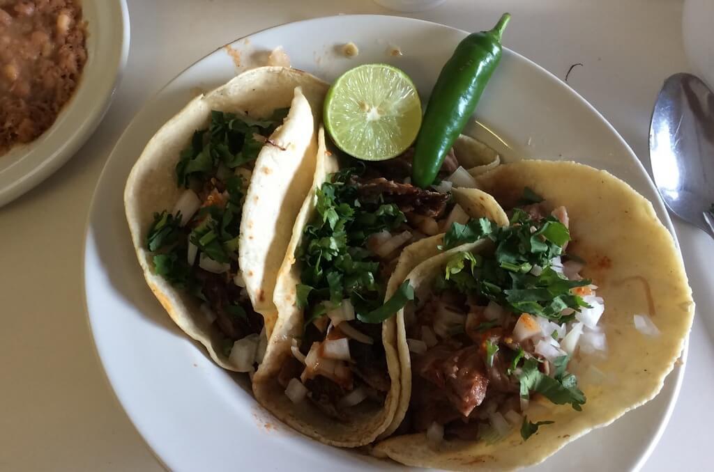 Tacos de Birria, Birrieria La Victoria, Guadalajara, Jalisco, Mexico
