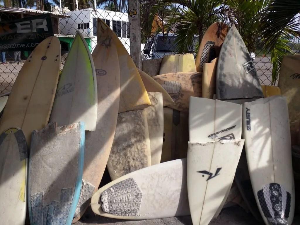 Pascuales Surfboard Repair