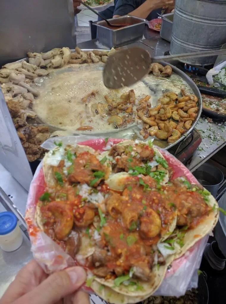 Tacos Rojo Tripas, Santa Teresita, Guadalajara, Mexico