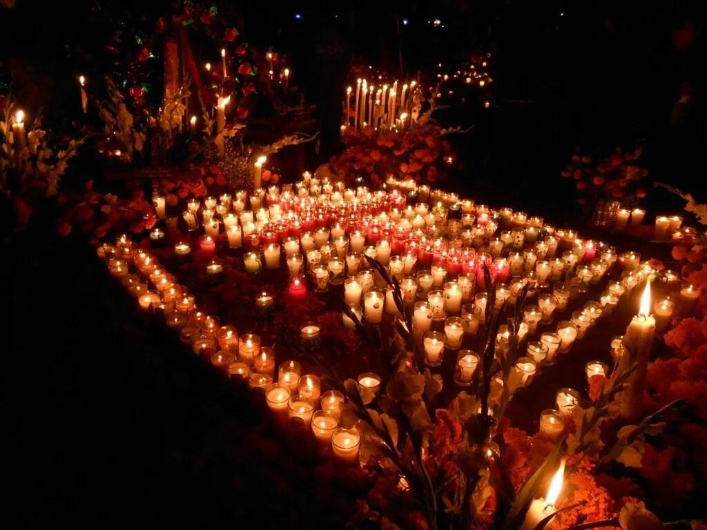 Day of the Dead in Tzintzuntzan, Michoacan