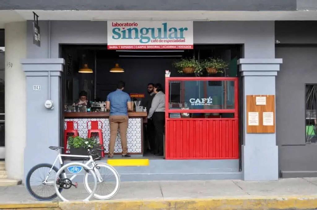 Guadalajara Coffee: Laboratorio Singular Coffee Shop