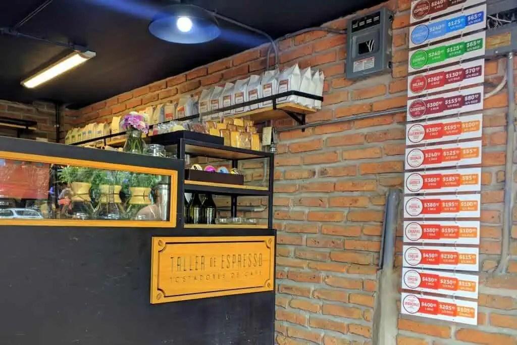 Taller de Espresso, Guadalajara