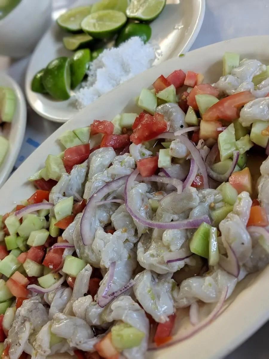 Cuchupetas Ceviche