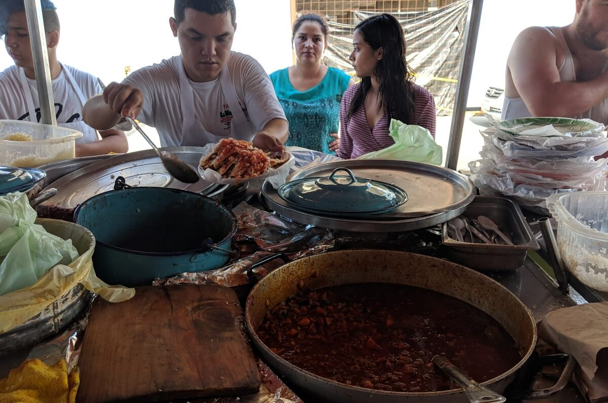 Cahuamanta La Mexicana, Mazatlan
