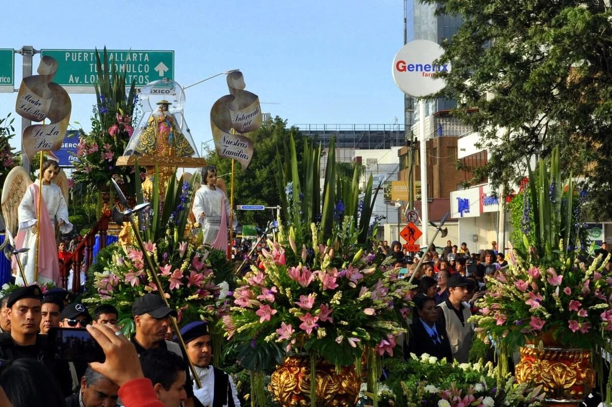 La Romería de la Virgen de Zapopan, Guadalajara, Jalisco