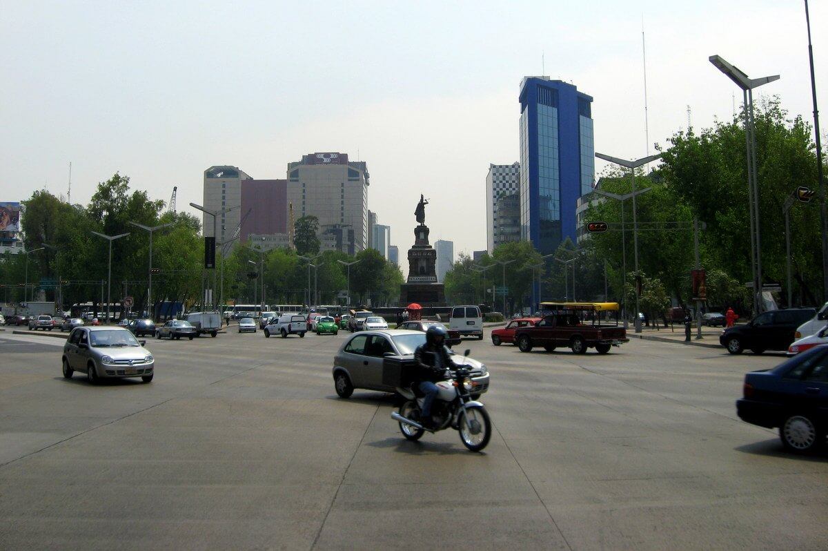 Driving in Mexico City