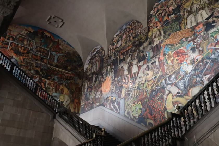 Where to find the best Diego Rivera murals in Mexico City