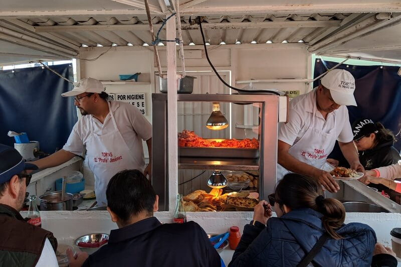 Best streetfood in Guadalajara El Profe Jimenez