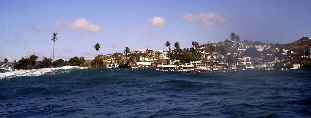 surfing San Miguel, Ensenada