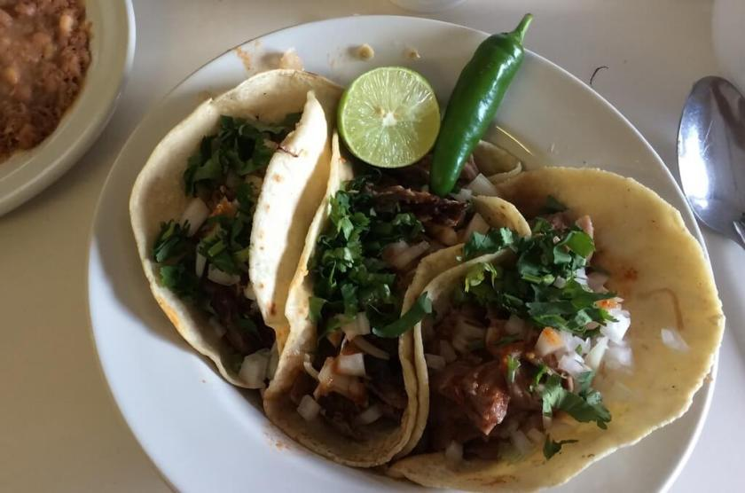Types of birria tacos include ribs, back and legs