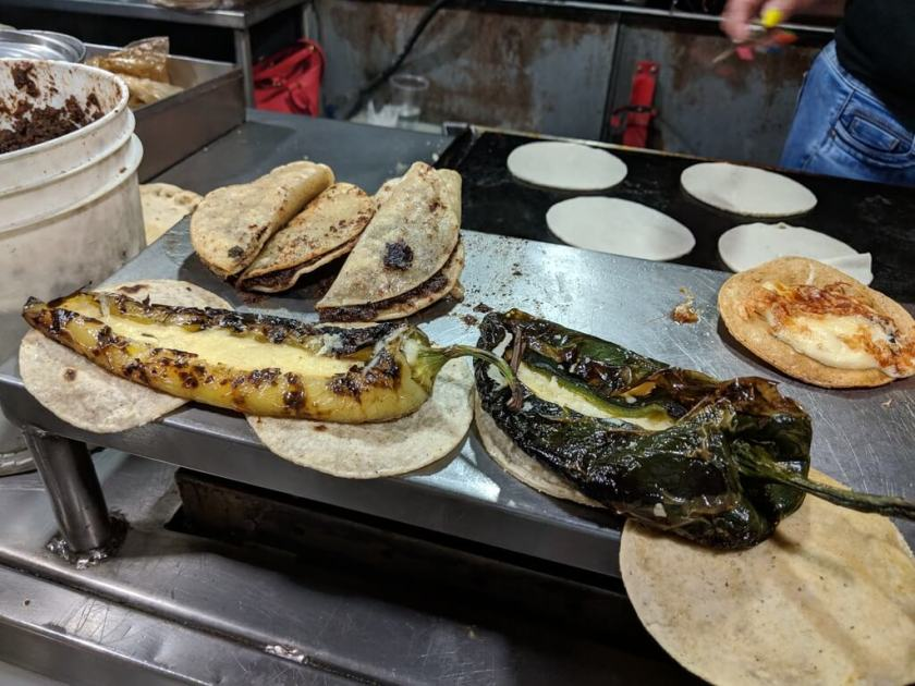 Chile relleno for making tacos