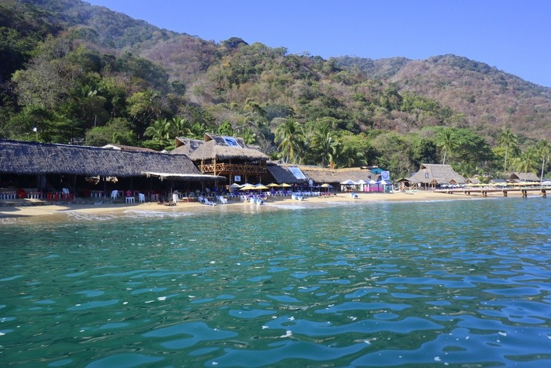 The best beaches in Puerto Vallarta are the south shore.