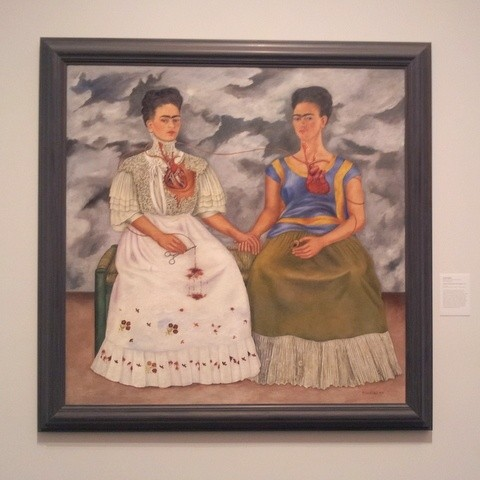 Books about Mexico and Frida Kahlo
