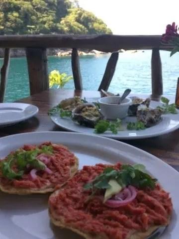 Ocean Grill at Colomitos Beach Puerto Vallarta