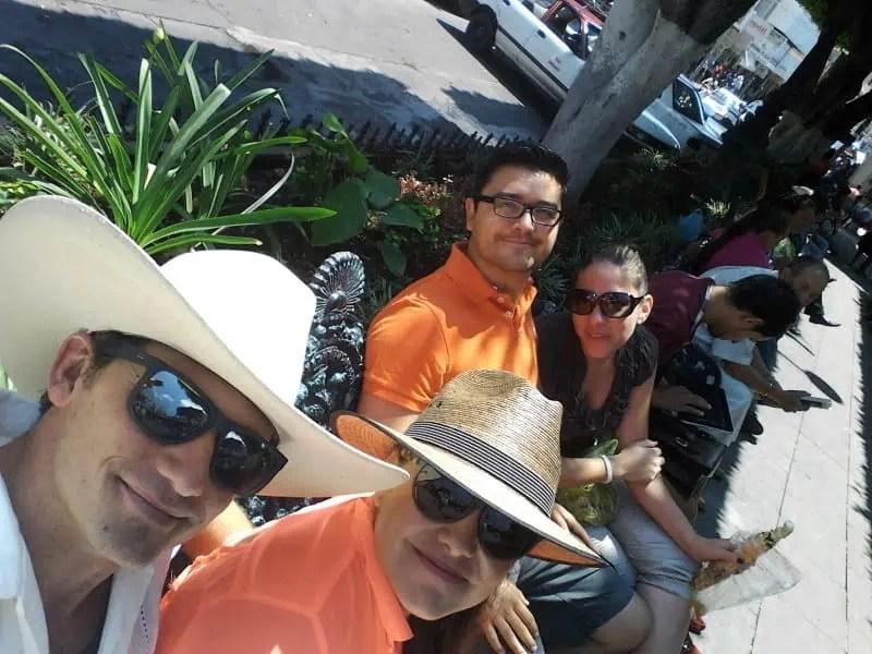 Mexican sombreros in Sahuyo, Michoacan