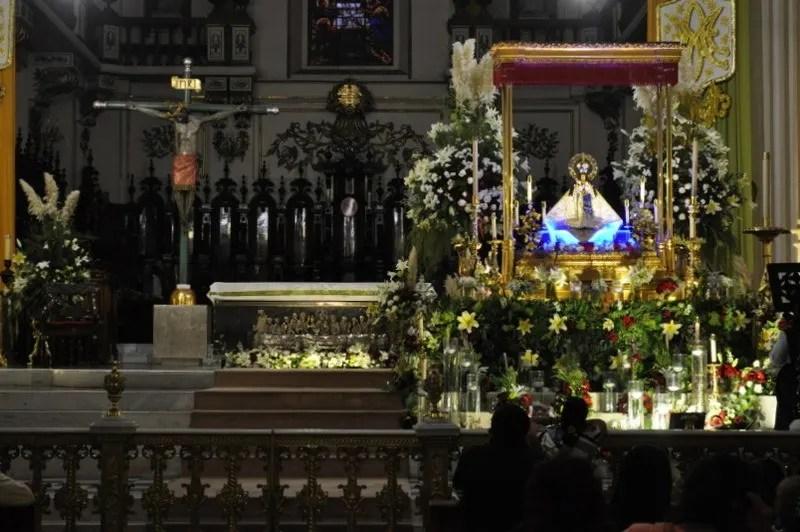 The virgin in the Guadalajara Metropolitan Cathedral