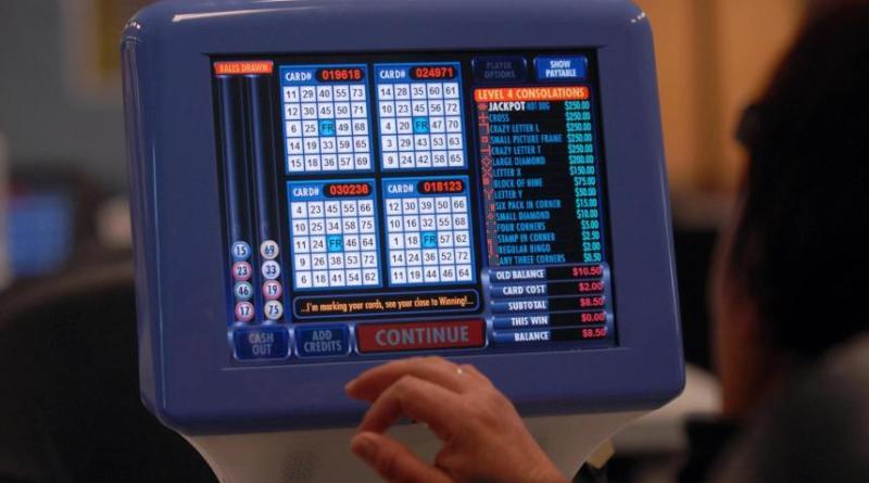 Electronic Bingo Machine