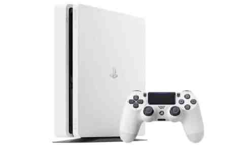 PS4 Slim weiss