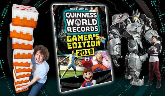 Buchvorstellung + Verlosung: Guinness World Records Gamer´s Edition 2019