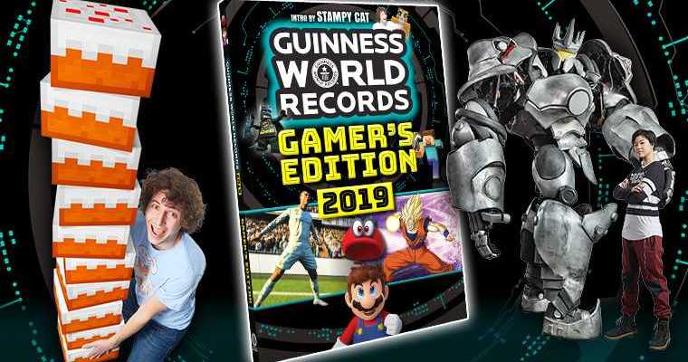 Buchvorstellung + Verlosung: Guinness World Records Gamer´s Edition 2019
