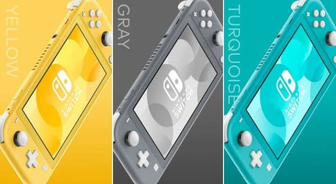 Nintendo Switch Lite logo