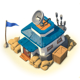 The Headquarters is the nerve centre of your base. Upgrading the HQ unlocks new base buildings and upgrades.