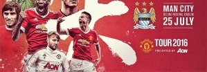 Manchester United vs Manchester City International Champions Cup