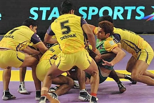 Patna Pirates vs Telugu Titans PKL 2016